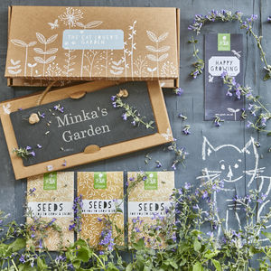 The Cat Lovers' Garden Gift