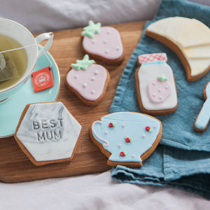 Mum's Breakfast In Bed Biscuit Gift Set