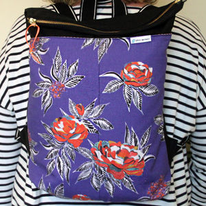 Rose And Berry Rucksack
