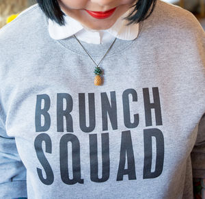 Brunch Squad Sweatshirt - women's fashion