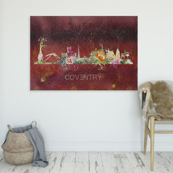 Coventry Cityscape Fine Art Skyline
