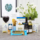 Treats And Wine Gift Box Hamper