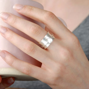 Adore Silver Spinning Ring - rings
