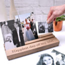 Personalised Wedding Or Anniversary Wooden Photo Frame