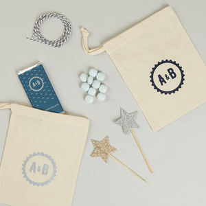 Personalised Wedding Favour Bags - wedding favours