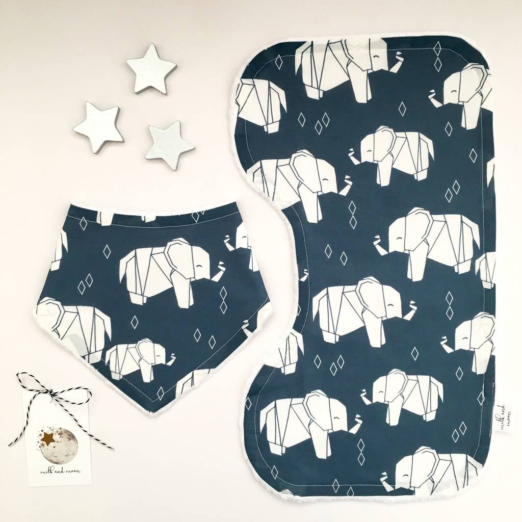 Elephants Little Dribblers Gift Set