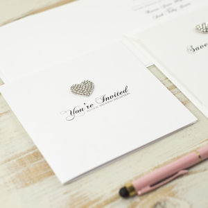 All Heart Wedding Invitation
