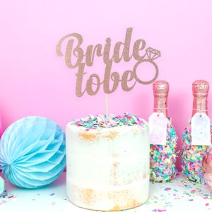 'Bride To Be' Hen Party Cake Decoration - cakes & treats