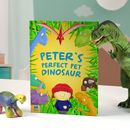 Personalised Pet Dinosaur Book
