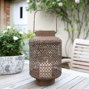 Large Latticework Lantern - lights & lanterns