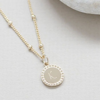 Friendship Necklace In Sterling Silver Or Gold Vermeil