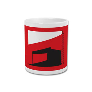'Factory of Dreams' Minimalist Manchester United Mug - dining room