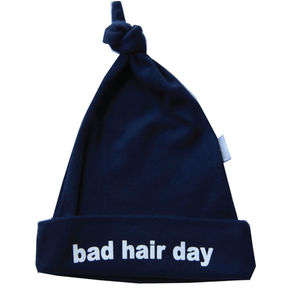 Bad Hair Day Navy Hat