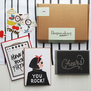Rock N Roll Stationery Box