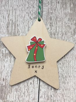 Personalised Gift Christmas Decoration