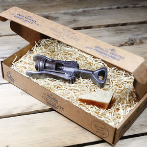 Chocolate Corkscrew And Parmesan Gift Box