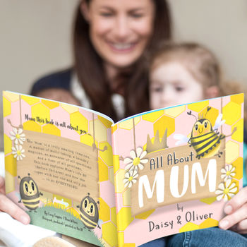 'My Mum' Personalised Book For Mothers