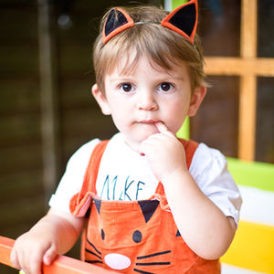 Tiger Costume Dungaree - clothing