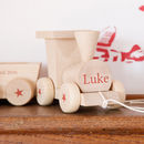 Personalised Wooden Train Set