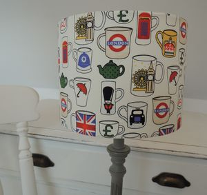Handmade British Tea Cup Lampshade