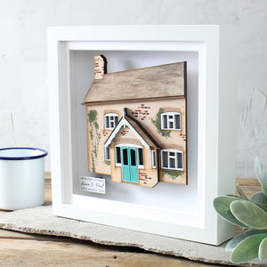 Your Home 3D House Portrait - gifts for her
