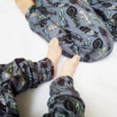 Organic Denim Feathers Baby And Toddler Leggings