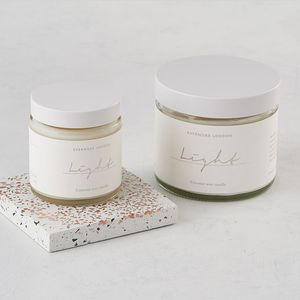 Light Organic Coconut Wax Candle 120ml - lust list
