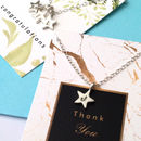 Personalised Star Necklace