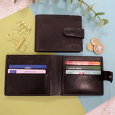 Vintage Leather Personalised Wallet - what's new