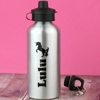 'Unicorn Power' Personalised Water Bottle