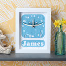 Personalised Sting Ray Clock