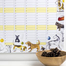 2019 Dogs Wall Calendar And Year Planner