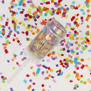 Rainbow Bright Confetti Flutter - summer wedding