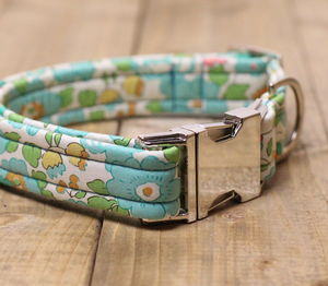 Doris Liberty Fabric Dog Collar - more