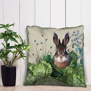 Cabbage Patch Rabbit Decorative Cushion Four - bedroom