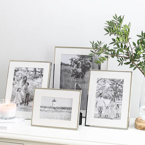 Silver Plated Fine Photo Frame