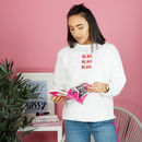 Blah Blah Blah Teen Sweatshirt