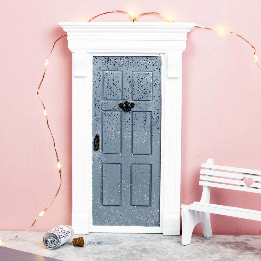 My sparkly fairy door by cheeky elephant for Original fairy door