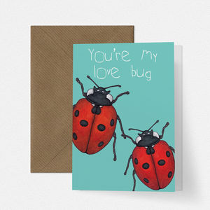 Ladybird Love Card