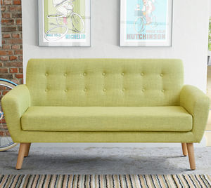 Mid Century Two Seater Sofa - sofas