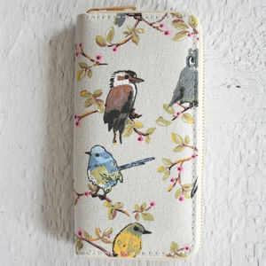 Hummingbird Print Purse