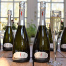 Set Of Six Slim Sparkling Zero Sugar Wine