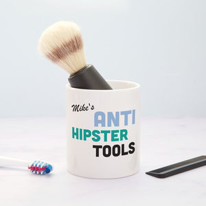 Anti Hipster Tools Personalised Shaving Pot