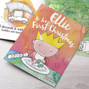 Personalised First Christmas Story Book - story books