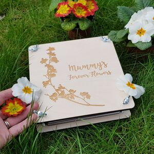 Personalised Mother's Day Flower Press