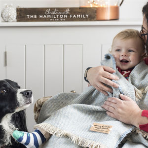 Personalised Blanket Or Throw - gifts for fathers