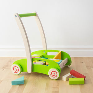 Block And Roll Baby Walker - building blocks & stacking toys