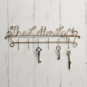 Personalised Business Name Key Holder - baby's room