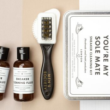 'Be My Sole Mate' Sneaker Cleaning Kit