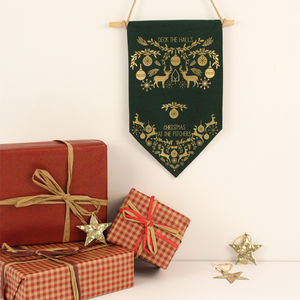 Personalised Christmas Pennant - christmas home accessories
